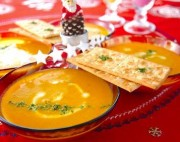 カボチャの豆乳スープ
