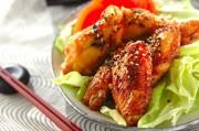 骨付き鶏肉の味から揚げ
