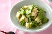 春菊入りポテトサラダ