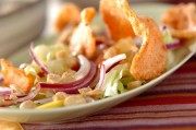 紫玉ネギのエスニックサラダ