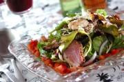 合鴨とバルサミコのサラダ