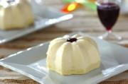七夕のレアチーズケーキ