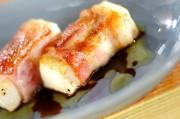 ベーコン巻き豆腐ソテー