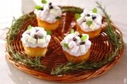 アジサイカップケーキ