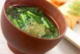 とろろ昆布のスープ