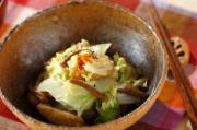 白菜とゼンマイのくったり煮