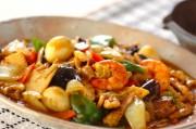 カレー風味の八宝菜