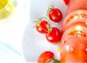 トマトのオリーブ油がけ
