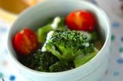 ブロッコリーの温玉サラダ