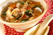 アサリのキムチスープ