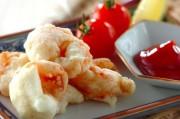 プリプリエビの卵白揚げ