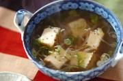厚揚げのエスニックスープ