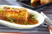 コンニャクあんの豆腐ステーキ