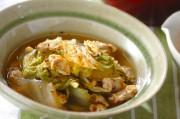 白菜とアサリのサッと煮