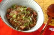 ハマチ納豆