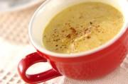 新玉ネギのトロミカレースープ