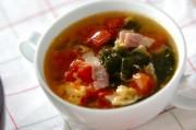 サッパリトマトスープ
