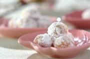 桜のクッキーボール