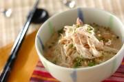 和風ぶっかけ素麺