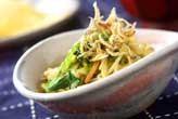 野菜炒めのサラダ