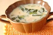 チンゲンサイのソイスープ