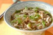 鶏と冬瓜の温麺