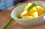 バニラ風味のパイナップル