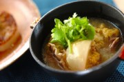 カブと豚のスープ