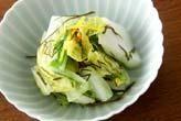 白菜のサッと漬け