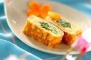 菜の花入り卵焼き