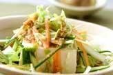 豆腐と野菜のサラダ