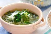 ジャガと玉ネギのスープ