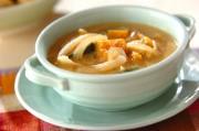 カボチャの豆乳みそスープ