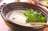 豆乳の湯豆腐