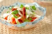 ランチョンミートのエスニック風サラダ