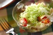 炒めシメジのサラダ
