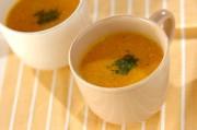 ニンジンのココナッツミルクスープ
