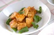 豆腐のバルサミコソテー