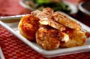 豚ヒレ肉と長芋の土佐焼き