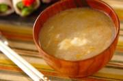 レンコンとショウガの卵汁