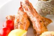 鶏手羽中の七味焼き
