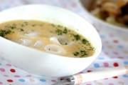 白玉入りコーンスープ