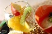 フルーツのバニラマリネ