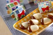 マシュマロクッキーのチョコレートがけ