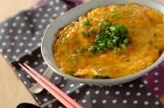 インスタントラーメンで天津麺