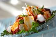 イカタコと野菜のサラダ