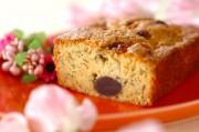カリフラワーの桜パウンドケーキ