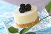 ベリーレアチーズケーキ