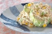 豆腐ドレッシングサラダ