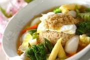 春野菜のスープ丼